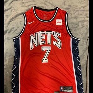 Kevin Durant #7 Brooklyn Nets Jersey